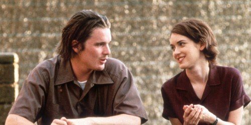 Ethan Hawke And Winona Ryder In 'Reality Bites'